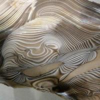 Krzmień pasiasty w muzeum minerałów i skamieniałości w Świętaj Katarzynie