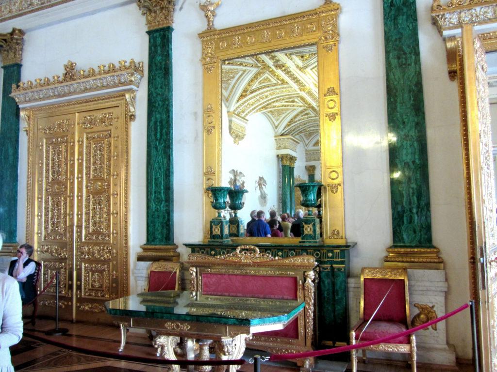 pałac zimowy/malachit