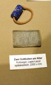 pieczęć cylindryczna, Idar Oberstein