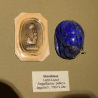 skarabeusz lapis lazuli