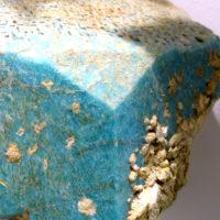Kryształ amazonitu z muzeum minerałów, Święta Katarzyna