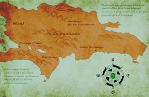 Larimar występuje na południu Dominikany