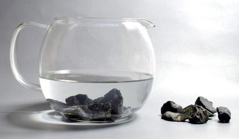 Szungit. Filtracja wody