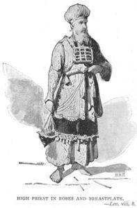 Pektorał wysadzany kamieniami szlachetnymi był elementem szt arcykapłana żydowskiego