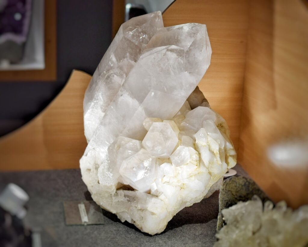 Kryształ górski - okaz
